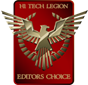 Hi Tech Legion Editor's Choice Award