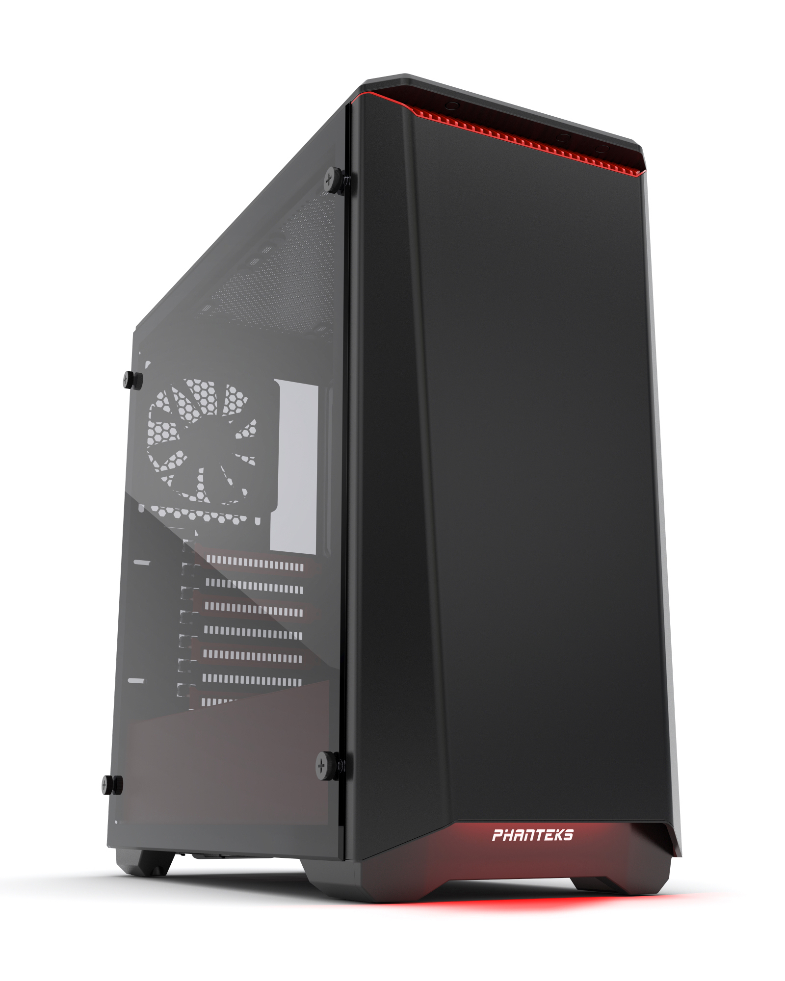 Phanteks Innovative Computer Hardware Design Create Secondary Colors From Multicolored Leds Edn Special Edition Red